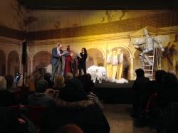 Dicembre 2015 - Soglie 2.0: Secunda Pastorum, spettacolo organizzato dall'Associazione C.O.R.E.
