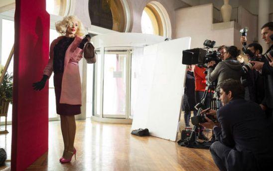 Gennaio 2015: il backstage del corto De Djess, con la regista Alice Rohrwacher a Venezia.