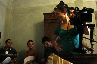 """Agosto 2011 - il backstage del cortometraggio """"Oltre il pregiudizio"""" di Matteo Manzi."""