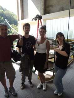 Giugno 2013: backstage della trasmissione paesaggi Itineranti di Rai 5 - Lago Maggiore