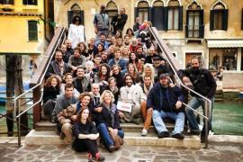 Ottobre 2013: il set del film Pitza e datteri